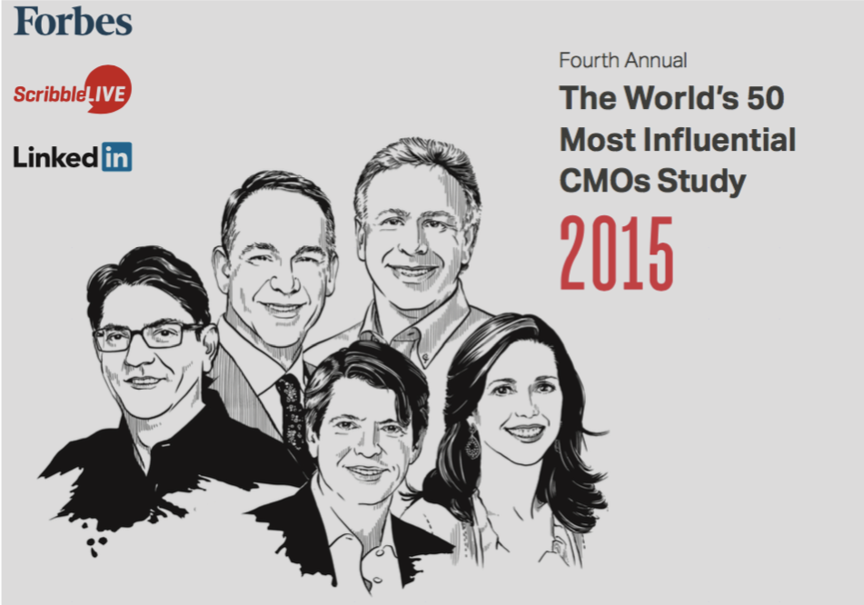 50 Most Influential CMOs 2015