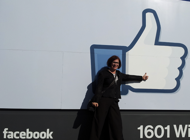Me, visiting Facebook HQ the week before their S-1 filing