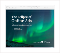 The Eclipse of Online Ads by Rebecca Lieb