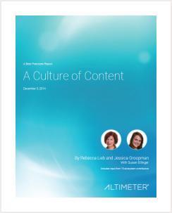 A Culture of Content